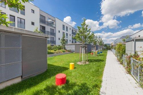 Domy szeregowe - nowe osiedle