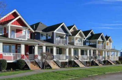 Zabudowa szeregowa domków